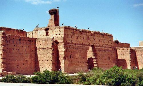 Zdjecie MAROKO / brak / Marrakech / ruiny el-Badi