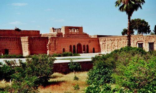 Zdjęcie MAROKO / brak / Marrakech / ruiny el-Badi