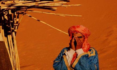 Zdjecie MAROKO / sahara / Merzouga / Na pustyni