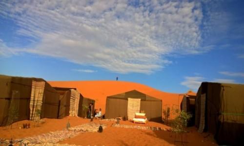 Zdjęcie MAROKO / Marzouga / Sahara / Noc na Saharze