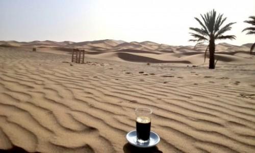 Zdjęcie MAROKO / Marzouga / Sahara / Szczęście