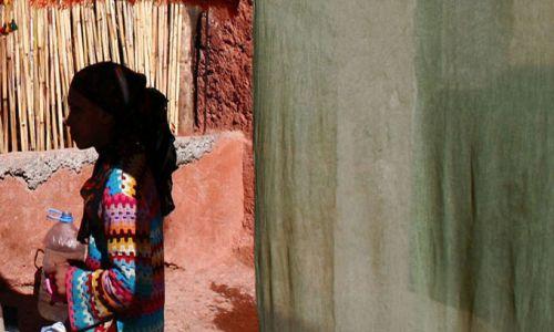 Zdjecie MAROKO / Maroko / Dolina Dades / w cieniu