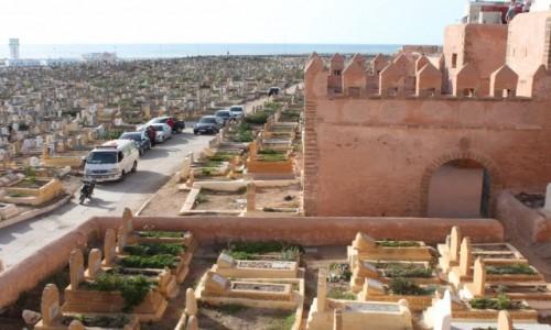 Zdjecie MAROKO / Rabat / Cmentarz / Cmentarz w Raba