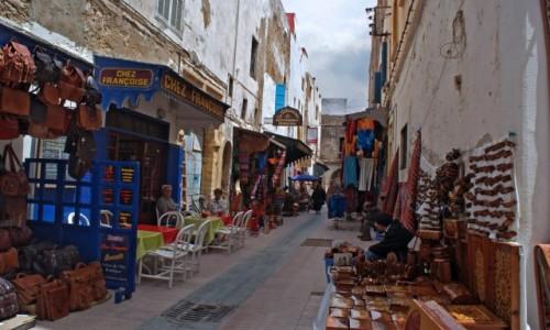 Zdjecie MAROKO / Essaouira / Essaouira /  uliczki Essaou