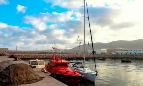 Zdjęcie MAROKO / Maroko / Maroko / Maroko - nasze jedyne bezpieczne miejsce w porcie