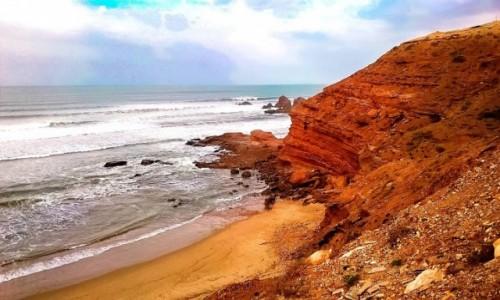 MAROKO / Maroko / Maroko / Afryka - dajej już tylko piasek i skały