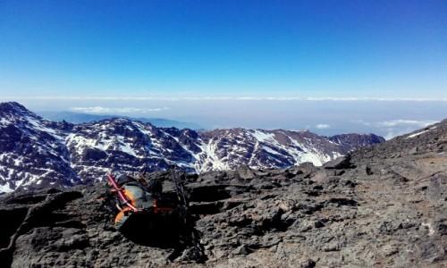 MAROKO / Góry Atlas / Góry Atlas / Maroko w drodze na najwyższy szczyt północnej Afryki