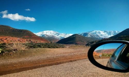 Zdjęcie MAROKO / Góry Atlas / Jabal Tubkal / Droga do Imlil, Góry Atlas. pięknie w każdą stronę