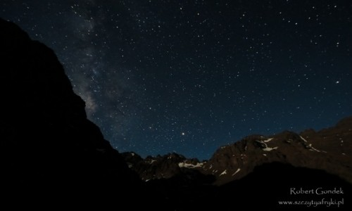 Zdjecie MAROKO / Góry Atlas / Góry Atlas / Góry Atlas nocą