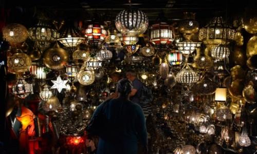 Zdjęcie MAROKO / Marrakesz / Plac Jemaa El Fna / Światła Marrokańskich Latarni