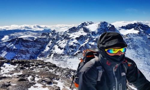 MAROKO / Maroko / Maroko / Atlas Wysoki, Afryka; zima -30 stopni
