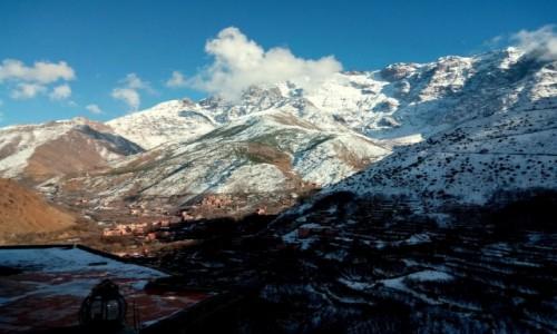 Zdjecie MAROKO / Atlas Wyski / Atlas Wyski / Zimowe wejście na Jabal Tubkal w Afryce - baza Imlil 3