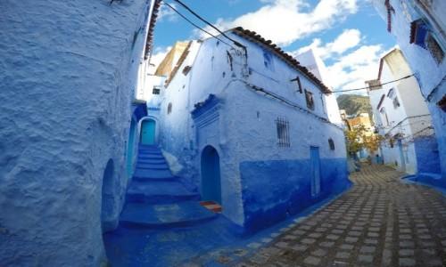 MAROKO / - / Chefchaouen / Niebieskie miasto Maroka
