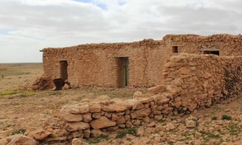 Zdjęcie MAROKO / Sahara Zachodnia / Hagunia / Solidny dom