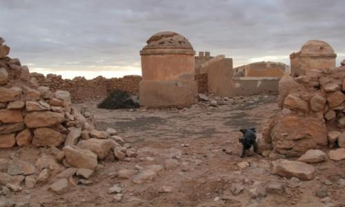 Zdjecie MAROKO / Sahara Zachodnia / Fort Edchera / Fort zdobyty i oznaczony