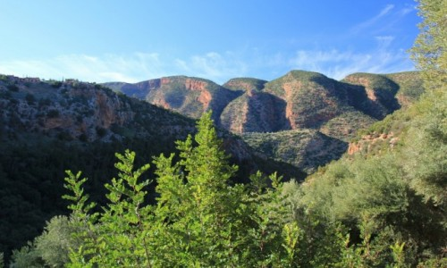 MAROKO / Maroko / Maroko / Widok na góry