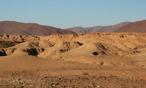 Zdjecie MAROKO / Maroko / Maroko / Marokański krajobraz