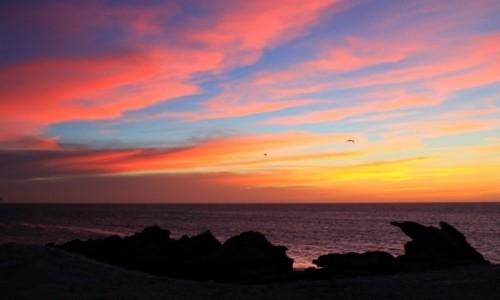 Zdjecie MAROKO / Sahara Zachodnia / Portorico / Taki sobie zachodzik słońca