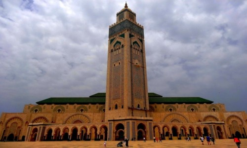 Zdjęcie MAROKO / Casablanca-Satta / Casablanca / Meczet Hasana II