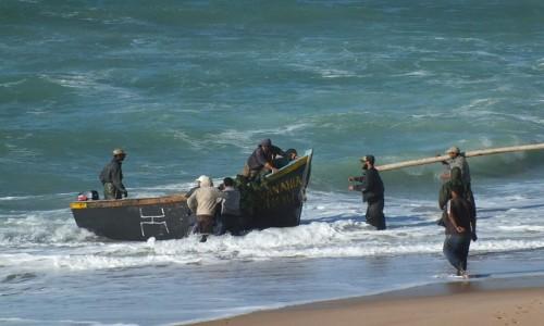 Zdjęcie MAROKO / Sahara Zachodnia / Ocean Atlantycki / Rybacy