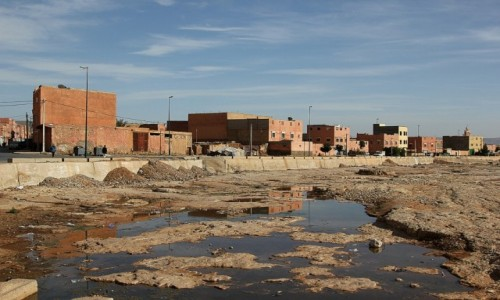 Zdjecie MAROKO / Sahara Zachodnia / Sahara Zachodnia / Woda jest