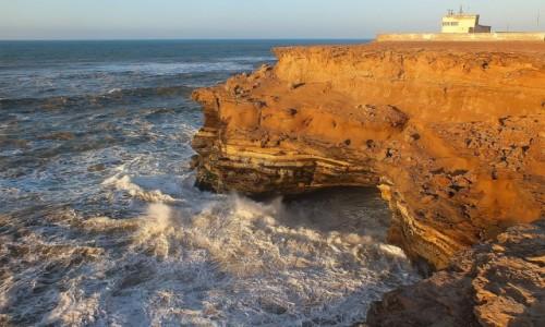 Zdjecie MAROKO / Sahara Zachodnia / nad Oceanem Atlantyckim / Będzie trzeba przenieść bazę
