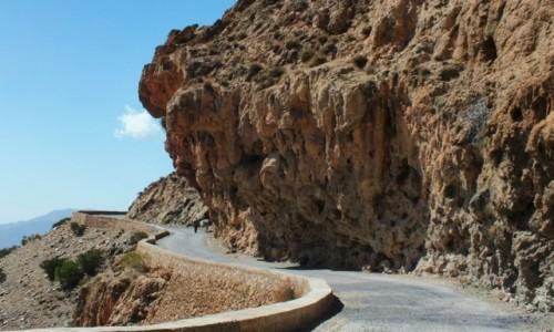 Zdjęcie MAROKO / Góry Atlas / Góry Atlas / Droga przez Atlas