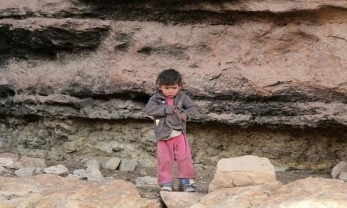 Zdjecie MAROKO / Góry Atlas / Góry Atlas / Dziecię gór