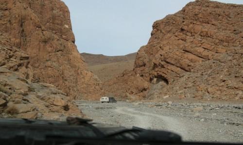 Zdjęcie MAROKO / * / Maroko / Za wąwozem Todra