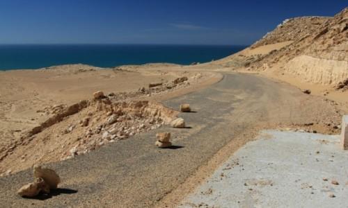Zdjęcie MAROKO / Sahara Zachodnia / Nad Oceanem Atlantyckim / Piasek