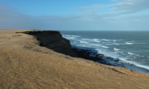 Zdjecie MAROKO / Sahara Zachodnia / Nad Oceanem Atlantyckim / Miejsce na nocleg
