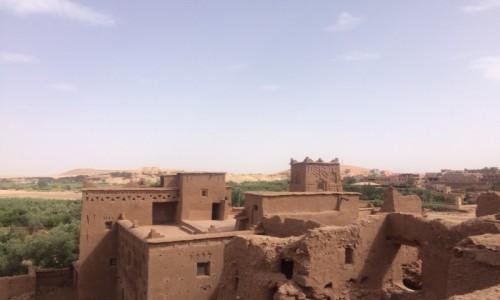 MAROKO / Południe Maroka / Ajt Bin Haddou / Ajt Bin Haddou