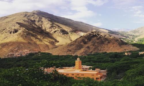 MAROKO / Imlil / Imlil / Góry Atlas