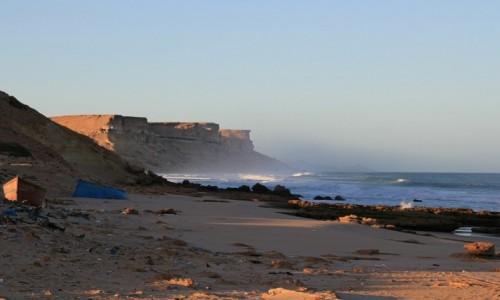 Zdjęcie MAROKO / Maroko / Nad Oceanem Atlantyckim / Mgiełka idąca znad oceanu...