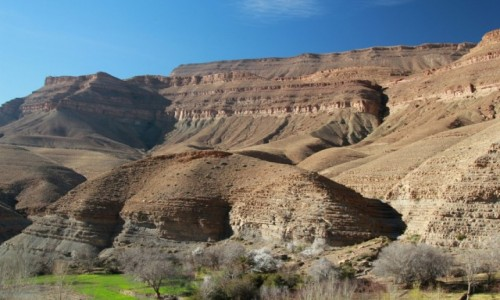 Zdjecie MAROKO / Dolina Dades / Dolina Dades / Zima w Maroku