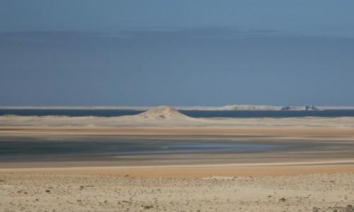 Zdjecie MAROKO / Sahara Zachodnia / Dakhla / Odpływ na Oceanie Atlantyckim