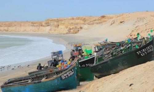 Zdjecie MAROKO / Sahara Zachodnia / Nad Oceanem Atlantyckim / Plaża
