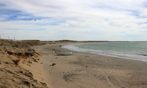 Zdjęcie MAROKO / Sahara Zachodnia / Nad Oceanem Atlantyckim / Spokój na plaży