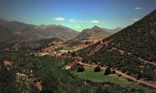 Zdjęcie MAROKO / Góry Atlas / Tizin Tichka / Drogi i dróżki