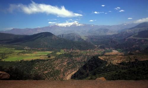 Zdjęcie MAROKO / Góry Atlas / Tizin Tichka / Wiosennie