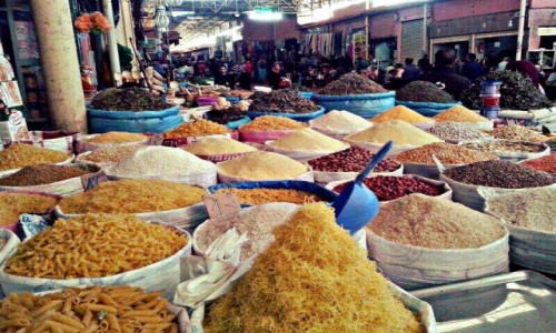 Zdjecie MAROKO / - / Maroko / Souk Maroko