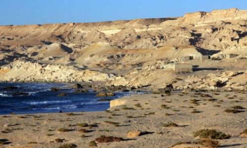 Zdjęcie MAROKO / Sahara Zachodnia / nad Oceanem Atlantyckim / Posiadłości z widokiem