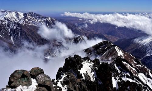 Zdjecie MAROKO / Atlas Wysoki / szczyt Toubkal 4167 m / Toubkal