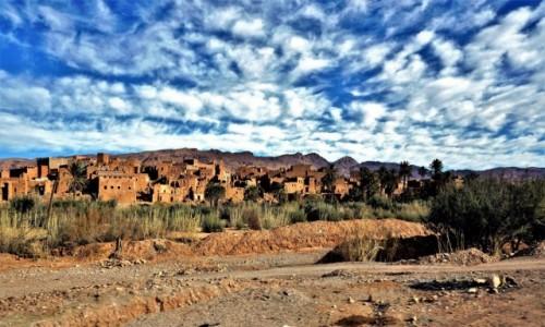 Zdjecie MAROKO / Środkowe Maroko / na południe od Atlasu Wysokiego / Na skraju pustyni