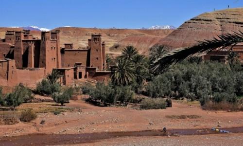 Zdjecie MAROKO / południowe podnóże Atlasu Wysokiego / Ait Ben Haddou  / Ksar Ait Ben Haddou