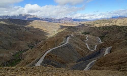 Zdjęcie MAROKO / Południowe Maroko / Przełęcz Tizi n'Tichka / Przełęcz
