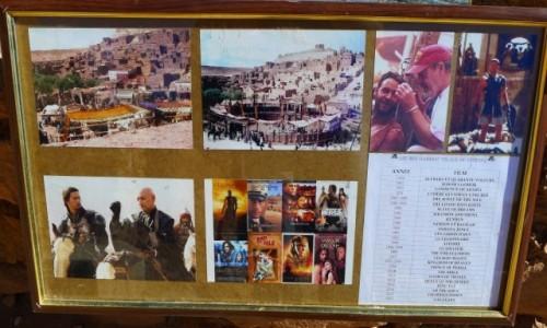 Zdjecie MAROKO / Południowe  Maroko  / Ksar Ait-Ben-Haddou  / Świat filmu w Maroko