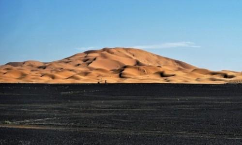 MAROKO / Sahara Erg Chebbi / Merzouga / Sahara