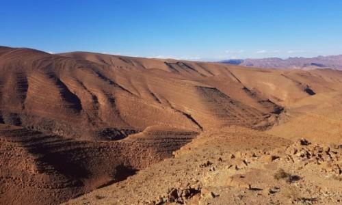 Zdjecie MAROKO / Południe / między Doliną Draa a Ouarzazate / Skalny ocean