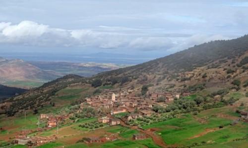 MAROKO / Południe / Dolina Zat / Zielone Maroko